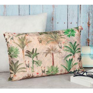 India Circus Heron's Garden Decorative Scale Cushion Cover