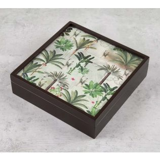 India Circus Heron's Garden Storage Box