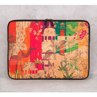 India Circus India Story Laptop Sleeve