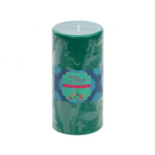 India Circus Japanese Cherry Blossom Pillar Candle