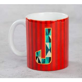 India Circus Jaunty Alphabet J Mug