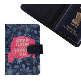 India Circus Keep Calm Passport Cover