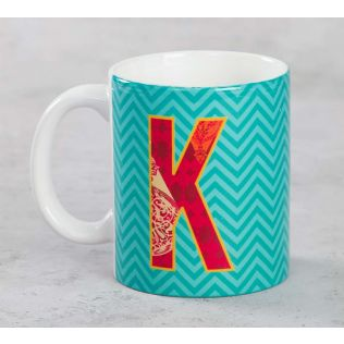 India Circus King-sized Alphabet K Mug