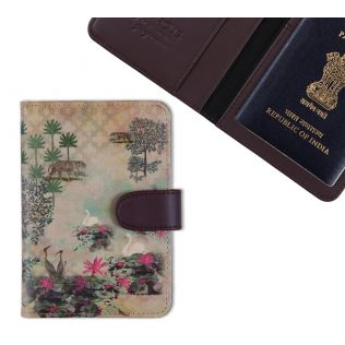 India Circus Kingdom of Dreams Passport Cover