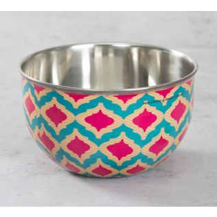 India Circus Lattice Practice Serving Bowl