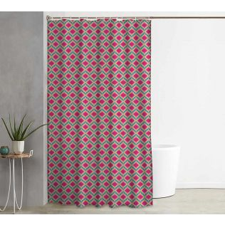 India Circus Lattice Practice Shower Curtain