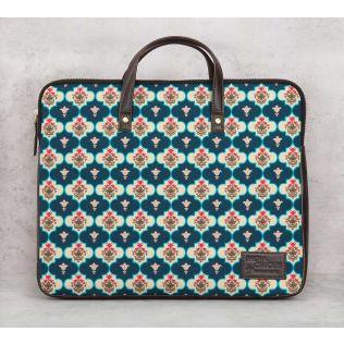 India Circus Lattice Treasures Laptop Bag