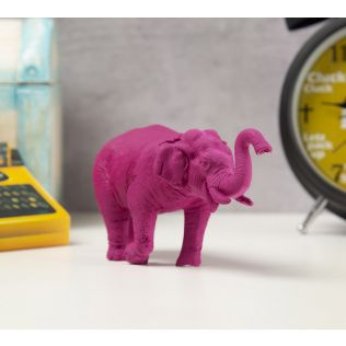 India Circus Magento Baby Tusker Figurine
