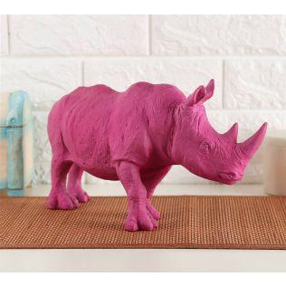 India Circus Magento Rhino Calf Figurine