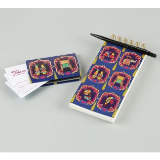 India Circus Magical Window Stationery Combo Set