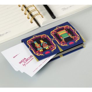 India Circus Magical Window Visiting Card Holder
