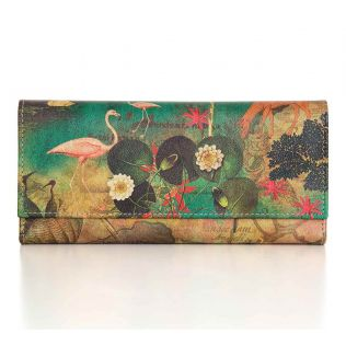 India Circus Mapping Animals Ladies Wallet