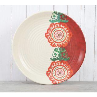 India Circus Masquerade Glimpse Dinner Plate