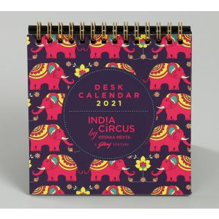 India Circus Mastodon's Jamboree Calendar