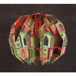 India Circus Mughal Doors Reiteration Dahila Paper Lantern