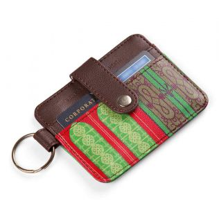 India Circus Mughal Doors Reiteration Keychain Card Holder