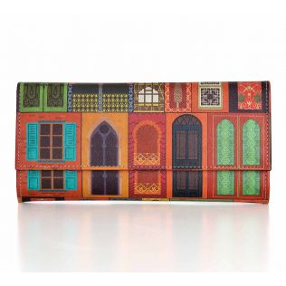 India Circus Mughal Doors Reiteration Ladies Wallet