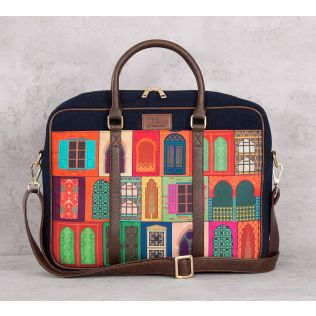 India Circus Mughal Doors Reiteration Laptop Bag