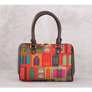 India Circus Mughal Doors Reiteration Small Duffle Bag