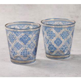 India Circus Mughal Jhali Glass Tumbler Set of 2