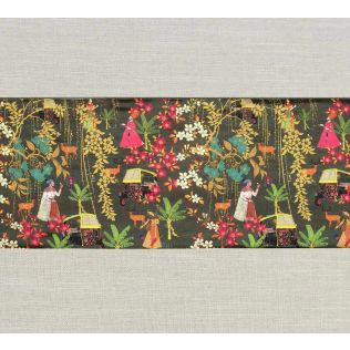 India Circus Mughal Traffic Bed and Table Runner