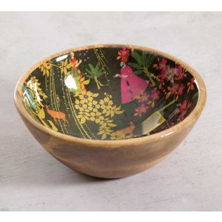 India Circus Mughal Traffic Serving Bowl