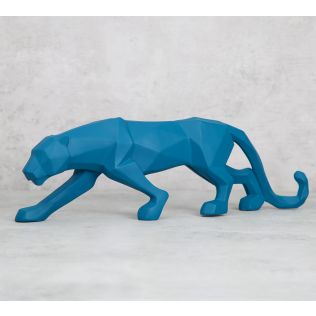 India Circus Muscular Jaguar Figurine