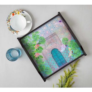 India Circus Mysterious Doorway Tray