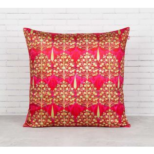 India Circus Mystical Pomegranate Blended Velvet Cushion Cover