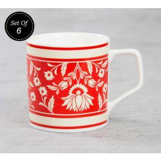 India Circus Mystique Flower Ambush Mug