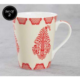 India Circus Mystique Flower Ambush Zing Mug