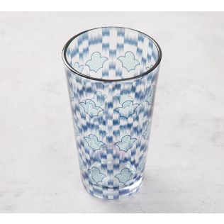 India Circus Organised Ovule Glass Tumbler