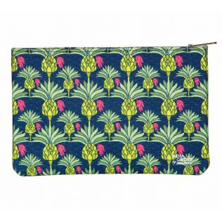 India Circus Palmeira Reiteration Makeup Pouch