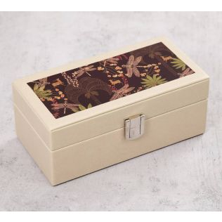 India Circus Palmeria Bloomer Leather Watch Box