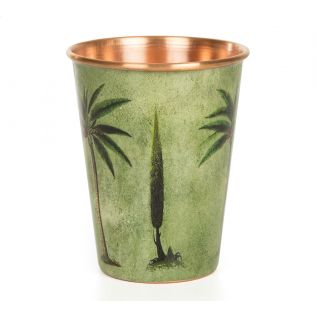 India Circus Palmeria Conifer Reiteration Copper Tumbler