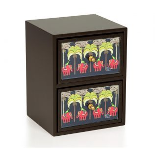 India Circus Palmeria Tusker Reiteration Chest of Drawer