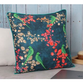 India Circus Parrots of the night Polyester Cushion Cover