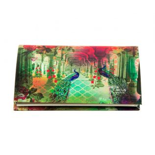 India Circus Peacock Dwar Visiting Card Holder