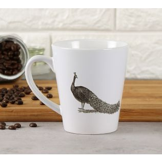 India Circus Peacock Pageant Coffee Mug