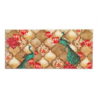 India Circus Peacocks Lotus Orchard Gift Envelope Set of 6