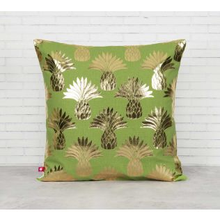 India Circus Pineapple Foil Cushion Cover