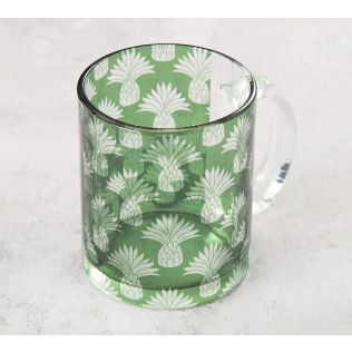 India Circus Pineapple Glass Mug