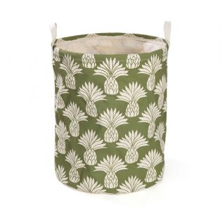 India Circus Pineapple Round Laundry Basket
