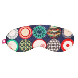 India Circus Platter Portrayal Eye Mask