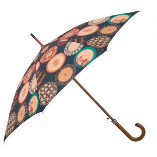 India Circus Platter Portrayal Umbrella
