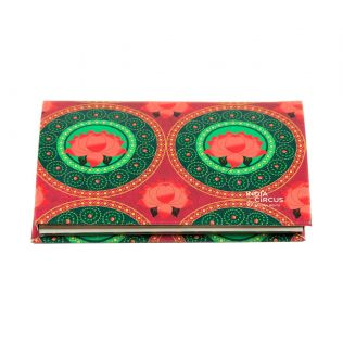 India Circus Platter Symmetry Visiting Card Holder