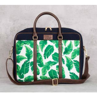 India Circus Pleasant Peduncle Denim Laptop Bag