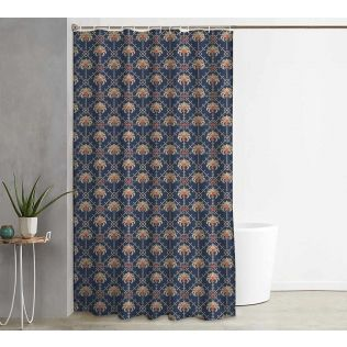 India Circus Poly Palmeria Shower Curtain