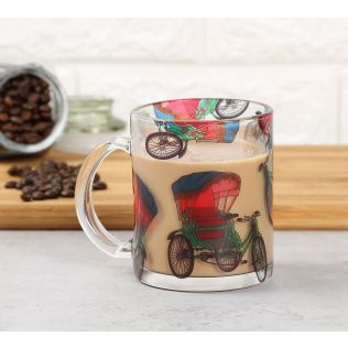 India Circus Pop Tanga Glass Mug