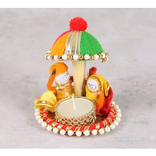 India Circus Rajah Rani Tea Light Holder